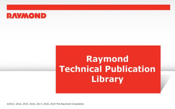 RAYMOND-Forklift-Technical-Publication-Library-2020-DVD-1