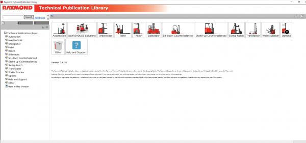 RAYMOND-Forklift-Technical-Publication-Library-2020-DVD-2