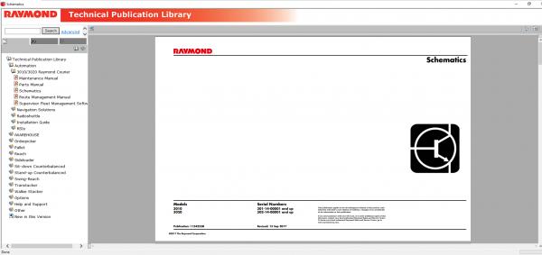 RAYMOND-Forklift-Technical-Publication-Library-2020-DVD-7
