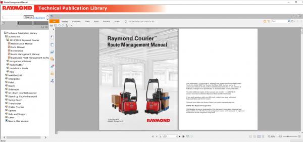RAYMOND-Forklift-Technical-Publication-Library-2020-DVD-9