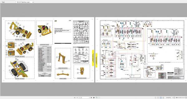 CAT-Backhoe-Loader-279MB-Full-Models-04.1988—08.2021-Updated-Electric-Hydraulic-Schematics-EN-PDF-DVD-9