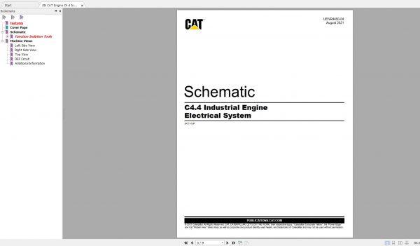 CAT-Engine-593MB-Full-Models-07.2001—08.2021-Updated-Electric-Hydraulic-Schematics-EN-PDF-DVD-3