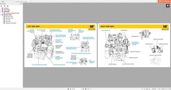 CAT-Engine-593MB-Full-Models-07.2001—08.2021-Updated-Electric-Hydraulic-Schematics-EN-PDF-DVD-4