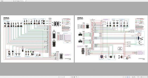 CAT-Engine-593MB-Full-Models-07.2001—08.2021-Updated-Electric-Hydraulic-Schematics-EN-PDF-DVD-6