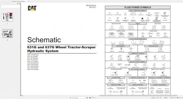 CAT-Wheel-Tractor-Scraper-196MB-Full-Models-09.2002—08.2021-Updated-Electric-Hydraulic-Schematics-EN-PDF-DVD-7