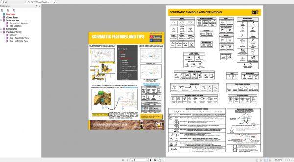 CAT-Wheel-Tractor-Scraper-196MB-Full-Models-09.2002—08.2021-Updated-Electric-Hydraulic-Schematics-EN-PDF-DVD-8