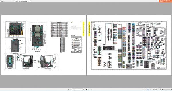 CAT-Wheeled-Excavator-260MB-Full-Models-06.2001—08.2021-Updated-Electric-Hydraulic-Schematics-EN-PDF-DVD-5
