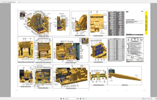 CAT-Wheeled-Excavator-260MB-Full-Models-06.2001—08.2021-Updated-Electric-Hydraulic-Schematics-EN-PDF-DVD-6