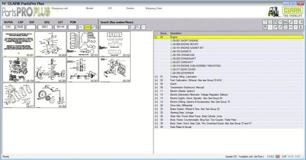 Clark-ForkLift-Parts-Pro-Plus-v521-09.2021-Spare-Parts-Catalog-DVD-1
