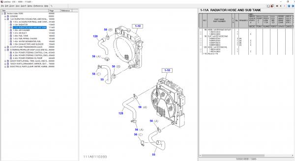 Isuzu CSS-NET 2021 08.2021 Japan Electronic Parts Catalog DVD 3