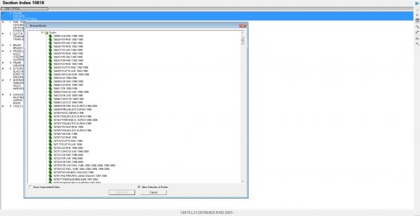 Isuzu CSS NET EPC 05.2021 Electronic Parts Catalog DVD 7