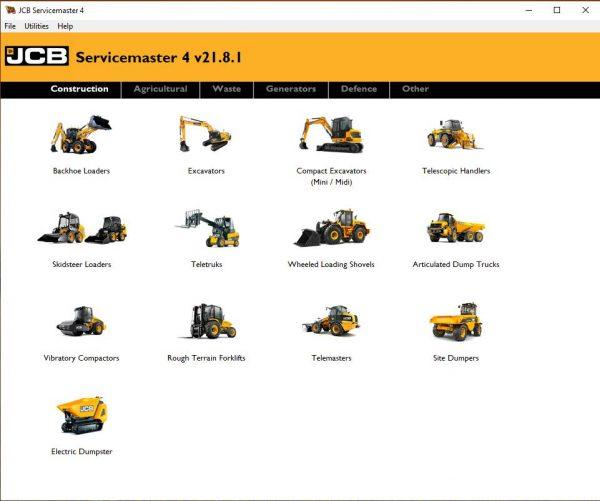 JCB-ServiceMaster-4-v21.8.1-09.2021-Diagnostic-Software-DVD-1