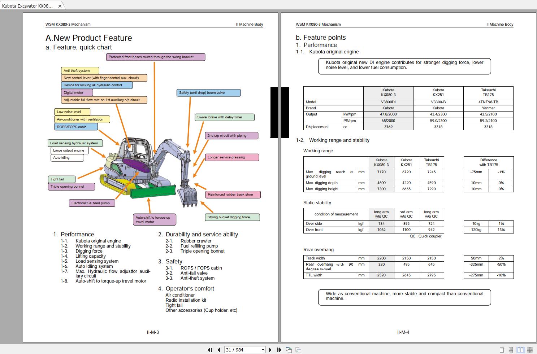 Automotive Tools & Equipment Part Number # 97899-61730 Kubota ...