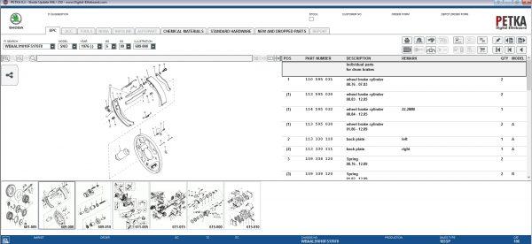 PETKA-8.3-Volkswagen—Seat—Skoda—Audi—Commercial-Vehicles—Porsche-08.2021-Spare-Parts-Catalog-DVD-10