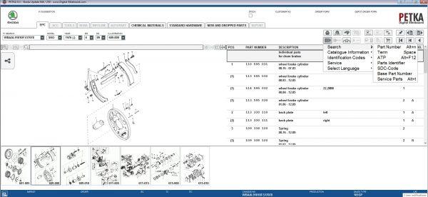 PETKA-8.3-Volkswagen—Seat—Skoda—Audi—Commercial-Vehicles—Porsche-08.2021-Spare-Parts-Catalog-DVD-14